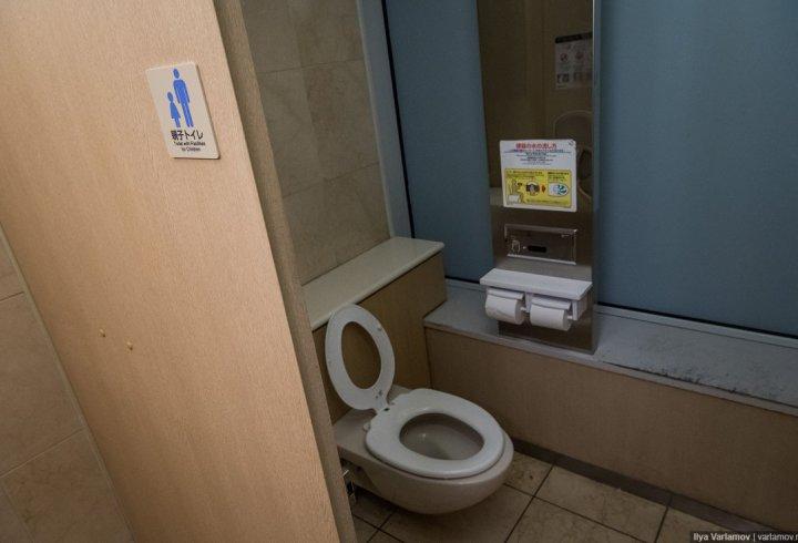 Як виглядають туалети в Японії (фото)