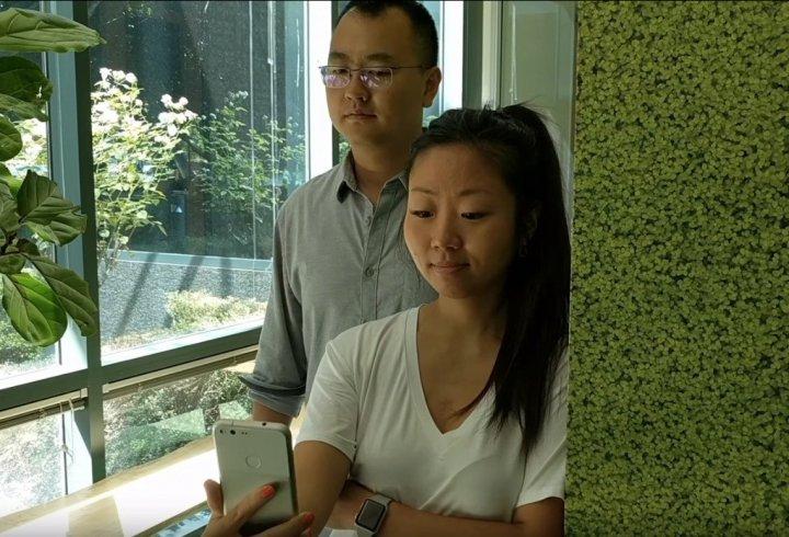 Технологія проти підглядання (відео)