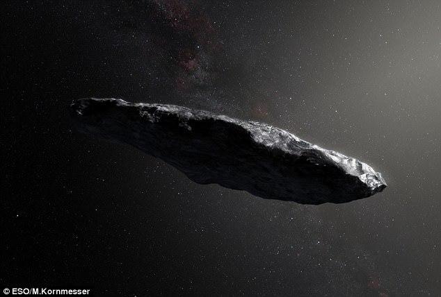 Оумуамуа - не космічний корабель