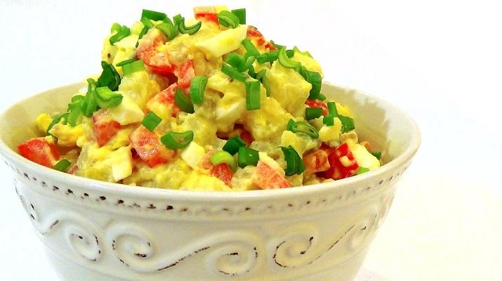 Справжній (патентований) американський картопляний салат