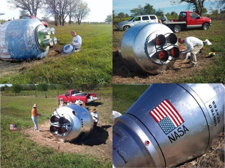 Космічна капсула НАСА чи фермерський креатив (фото)
