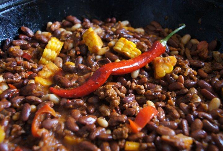 Chili con carne - гостро, гаряче, апетитно