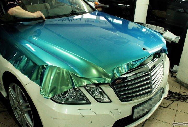 Автовініл. Автомобільна декоративна плівка (фото)