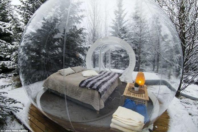 Готель з «бульбашок» в Ісландії - нова ціль для туристів (фото)