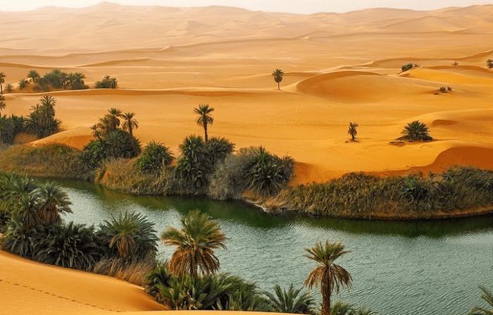 Убара - чарівний оазис пустелі Сахара (фото)
