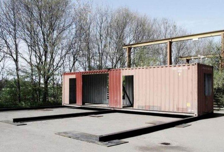 Будинок мрії зі старих контейнерів (фото)