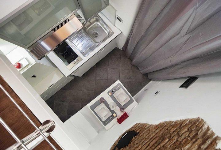 Квартира площею 7 квадратних метрів в Римі (фото)