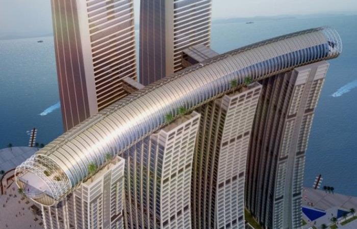 В Китаї побудують горизонтальний хмарочос (фото)