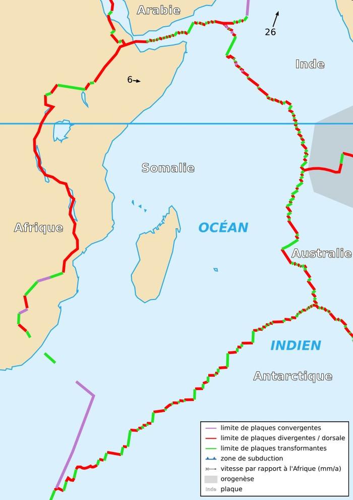 Африканський континент розділяється на дві частини