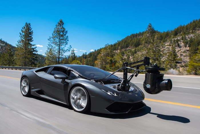 Найшвидша в світі камера на колесах (фото)