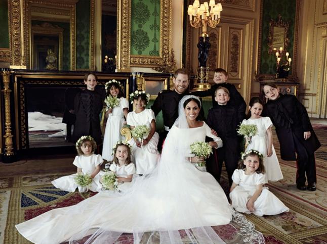 Опубліковані офіційні знімки з весілля принца Гаррі і Меган Маркл