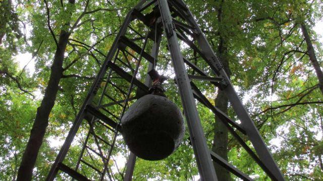 4-тонна куля для створення штучного землетрусу (фото)
