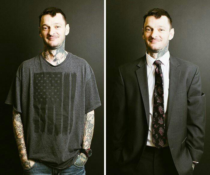 Як костюм змінює вигляд людини (фото)