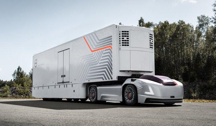 Автономна вантажівка від Volvo (відео)