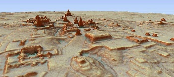 Нові технології допомогли знайти стародавні міста Майя (фото)