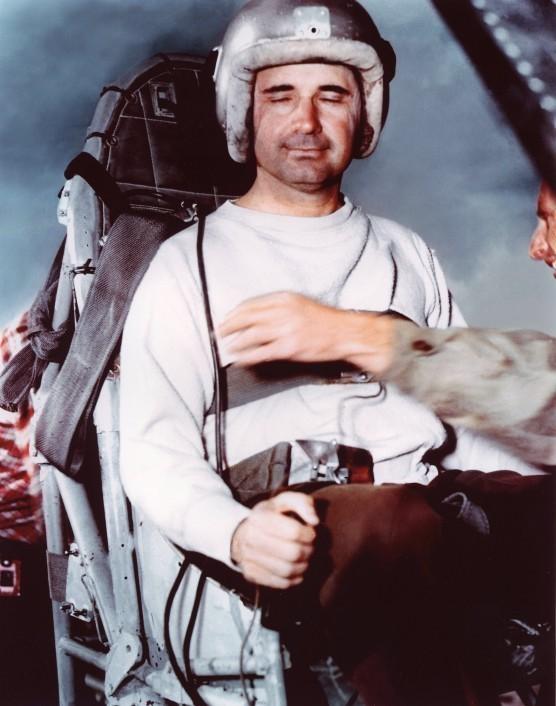 Джон Степп — людина-ракета