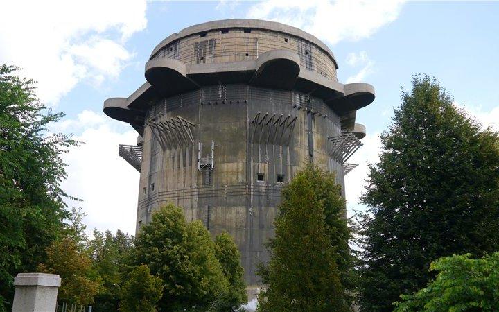 Flaktuгrme 7 у віденському парку Аугартен (відео)