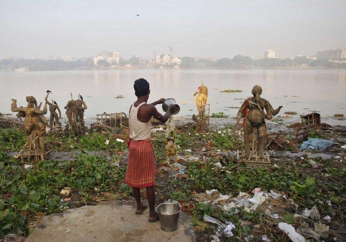 Вбивство священної річки (фото)