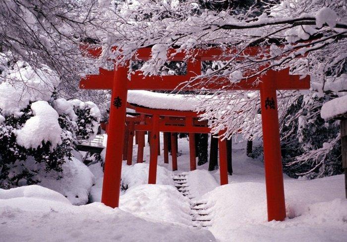 Зима в Японії (фото)