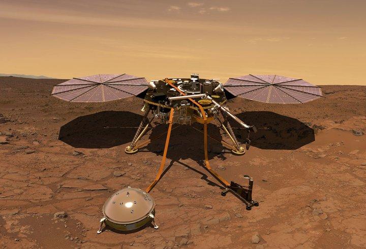 NASA вперше в історії записало шум вітру на Марсі (відео)