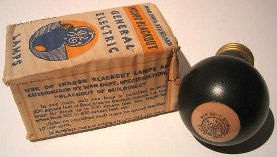 Чорні лампи Другої світової (фото)