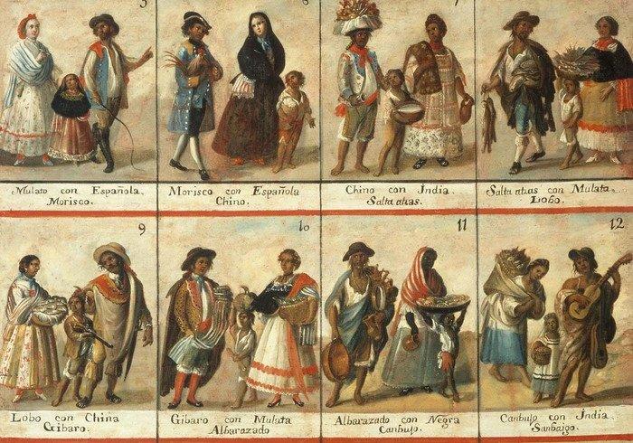 Метиси, мулати, креоли... Хто вони? Касти Латинської Америки
