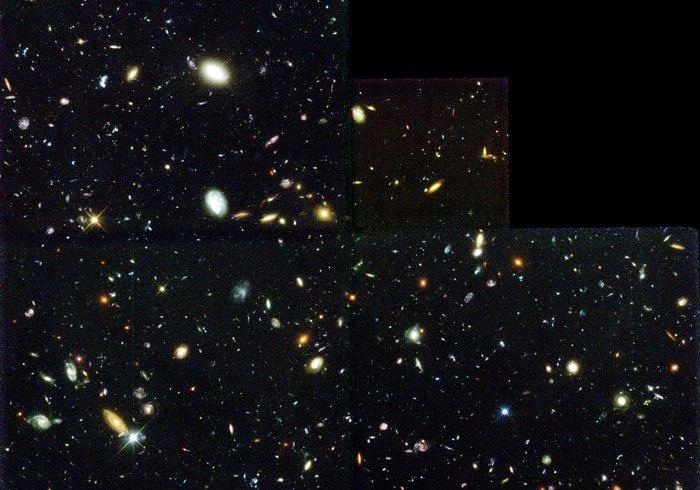 Hubble Deep Field. Що знаходиться там, де нічого немає?