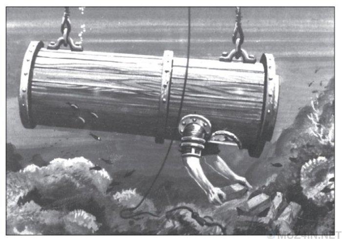 Пристосування для підводного плавання Джона Летбриджа (фото)