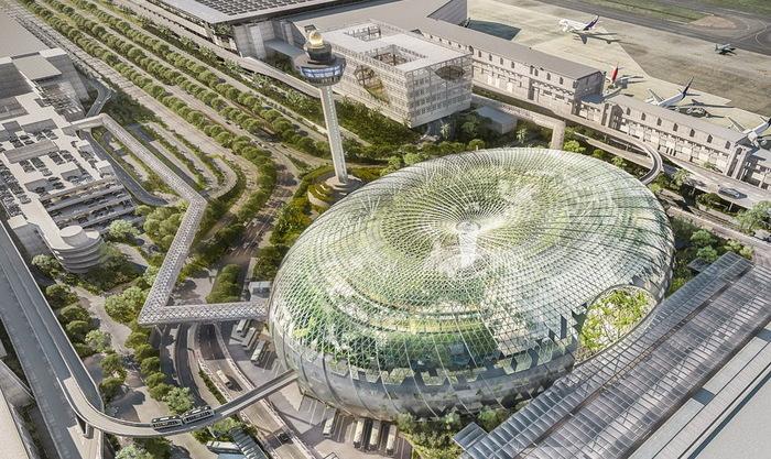 Нове «чудо» в аеропорту Сінгапуру (фото)