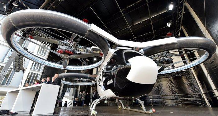 Airbus презентував міське аеротаксі CityAirbus (відео)