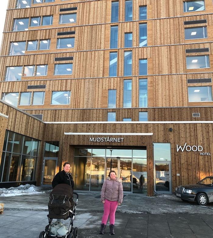 Норвезький дерев'яний «хмарочос» досяг висоти 85,4 метра (фото)
