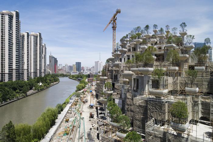 Сучасний варіант дива світу - Висячі сади Шанхаю (фото)