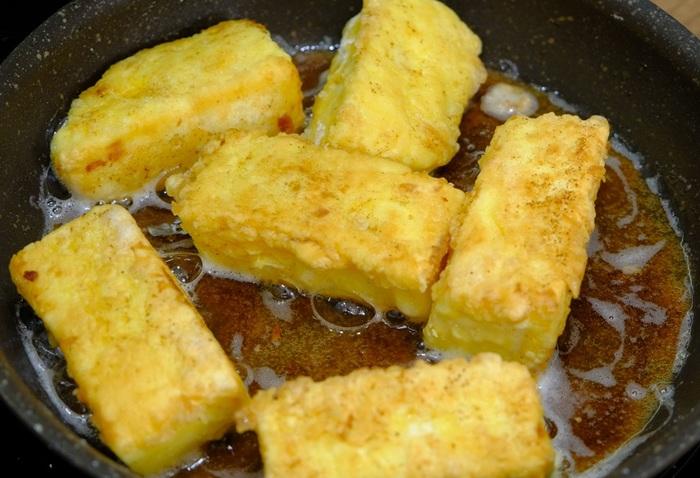 Смажене молоко Leche Frita - іспанський десерт