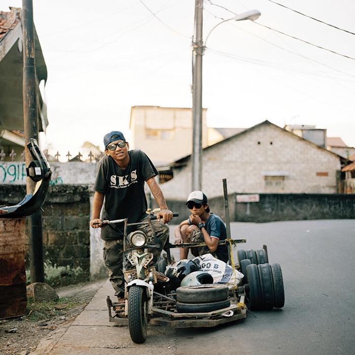 Індонезійські Веспи - найбожевільніші мотоцикли в світі (фото)