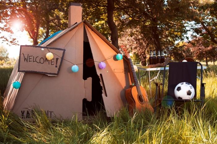 Картонні намети для фестивалів (фото)