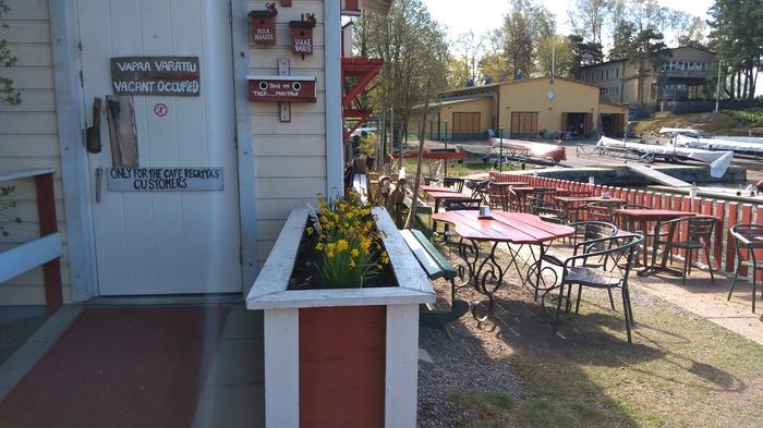Туалет загального користування на березі Фінської затоки (фото)