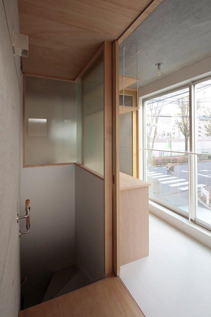Триповерховий будиночок в Токіо (фото)