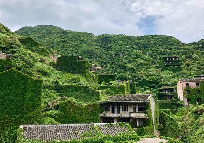 «Село без людей» на березі Східно-Китайського моря (фото)