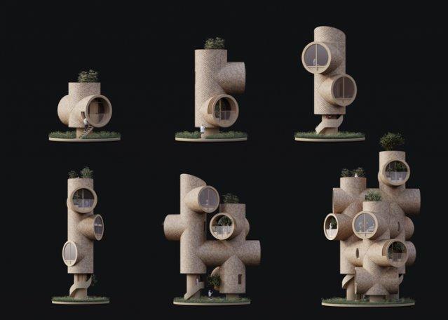 Проект модульного еко-будинку (фото)