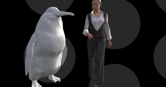 Останки пінгвіна людського росту знайдені в Новій Зеландії