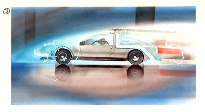 Як у фільмі «Назад в майбутнє» знімали подорож у часі (фото)