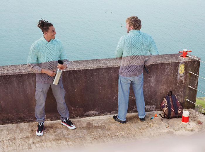 26 фото з серії «Невидимі джемпери», на яку пішло 5 років і тисячі годин в'язання (фото)