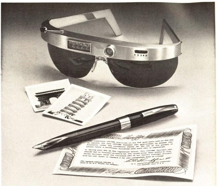 Майбутнє в рекламі чорнильних ручок 60-х років (фото)