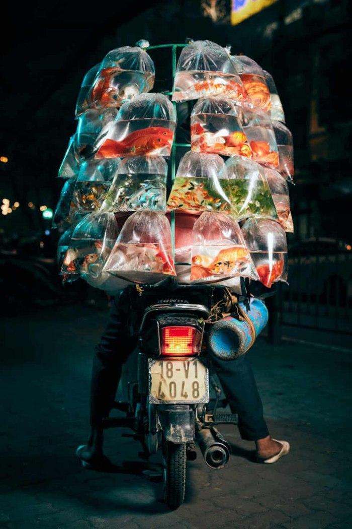 Як працюють служби доставки в Ханої (В'єтнам)