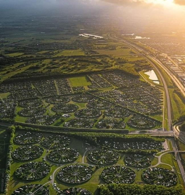 Brondby Haveby - місто садів в Данії (фото)