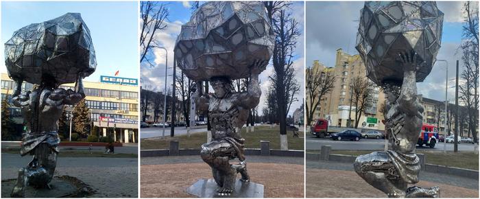 Білоруський коваль створює фантастичні скульптури (фото)