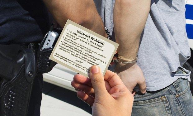 Чому американські копи зачитують підозрюваним їхні права, або «Правило Міранди»