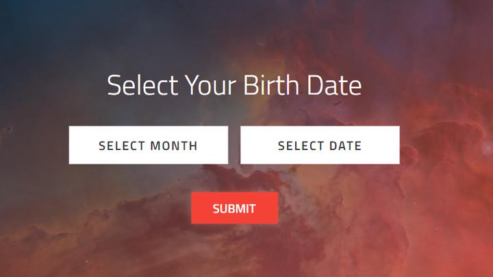 Подивіться, яке фото зробив Хаббл в дату вашого народження