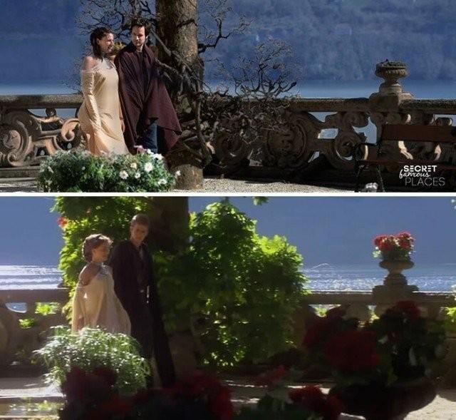 Пара подорожує місцями зйомок популярних фільмів щоб зробити фото