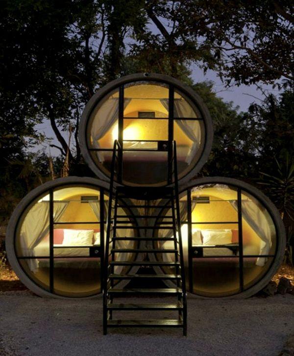 Das Park Hotel: незвичайний готель в каналізаційних трубах (фото)